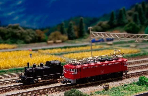 1月15日 鉄道博物館で「40年前のNゲージ車両の走行実演」開催