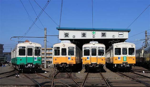 4月29日 高松琴平電気鉄道で「京浜車両展示会」開催