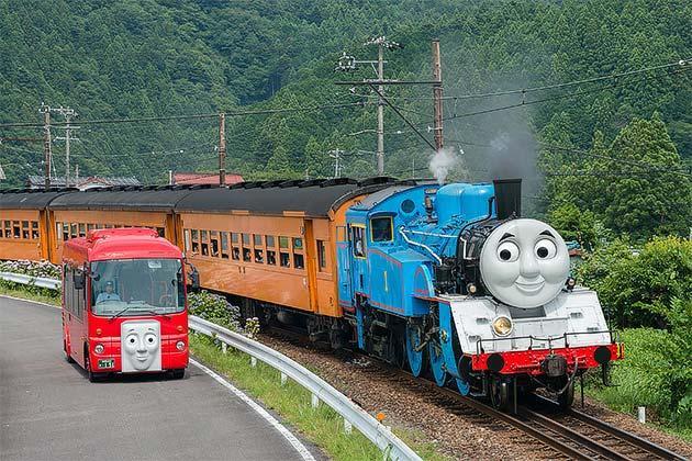 7月22日 大井川鐵道「きかんしゃトーマス号」などをニコニコ生放送で生中継