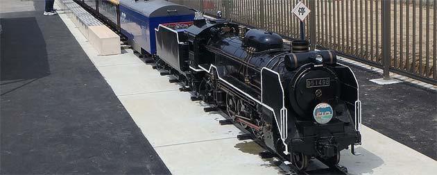 8月11日〜15日 新津鉄道資料館で「ミニSL乗車体験」開催
