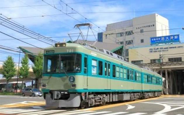 京阪大津線「ビールde電車」運転