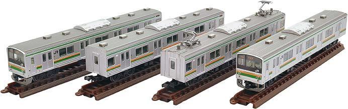 JR205系600番代宇都宮線(Y12編成)4両セット