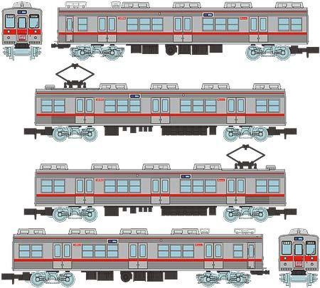 鉄道コレクション 京成3500形旧塗装4両セッ ト