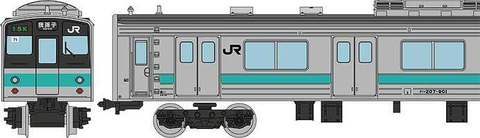 JR207系900番代 常磐緩行線