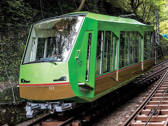 大山観光電鉄 101号車