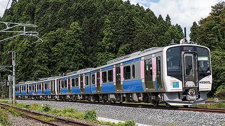 鉄道ファン 乗車インプレッションJR東日本HB-E210系 仙石東北ライン
