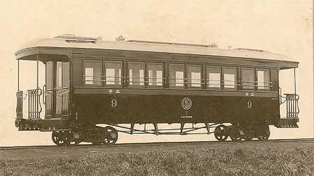 名古屋レール・アーカイブス所蔵の写真から日本車輌製軽便鉄道用木造ボギー客車2題