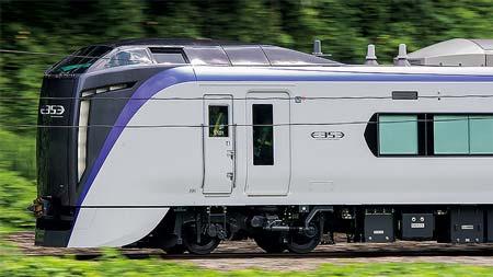 新車速報JR東日本 E353系量産先行車