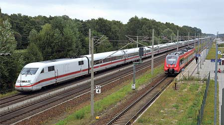 ヨーロッパ鉄道ア・ラ・カルト 2つの高速線を訪ねて 後編ベルリン~ハノーバー線
