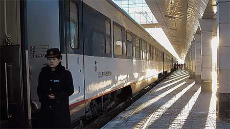看看中国鉄路20年 新疆ウイグル自治区・哈密 T304列車の旅