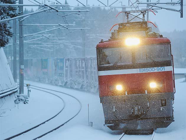 さらば,北海道〜青函を離れるEH500〜