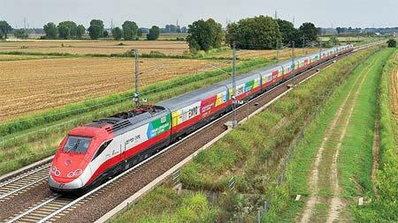 ヨーロッパ鉄道ア・ラ・カルトミラノ万博と高速列車