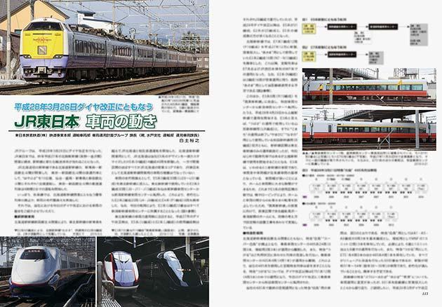 JR東日本 車両の動き