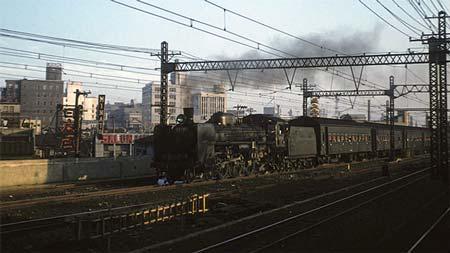 名古屋レール・アーカイブス所蔵のコダクローム作品から東京オリンピック開催を前にした首都圏の鉄道情景 その2機関車の活躍を追って