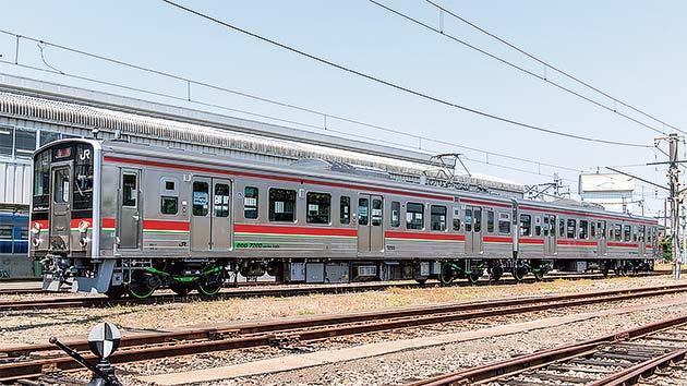 JR四国 7200系近郊形直流電車