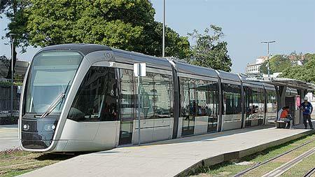 リオデジャネイロの都市鉄道