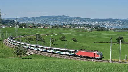 ヨーロッパ鉄道アラカルトスイス南東鉄道(SOB)と