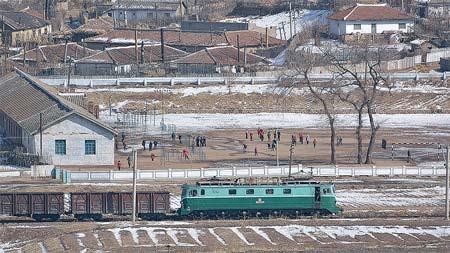 看看中国鉄路20年吉林省・図們国境鉄道橋