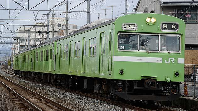 JR西日本吹田総合車両所 奈良支所所属103系の現状