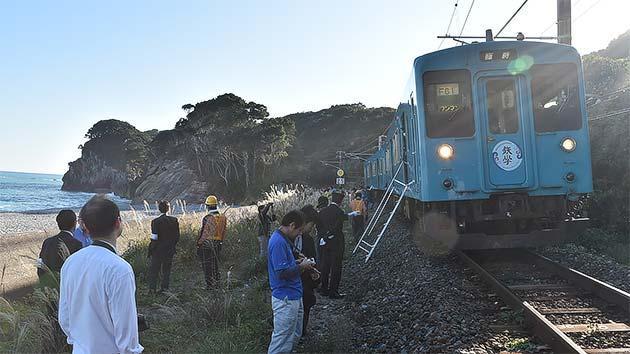 鉄道防災教育・地域学習列車「鉄學」※