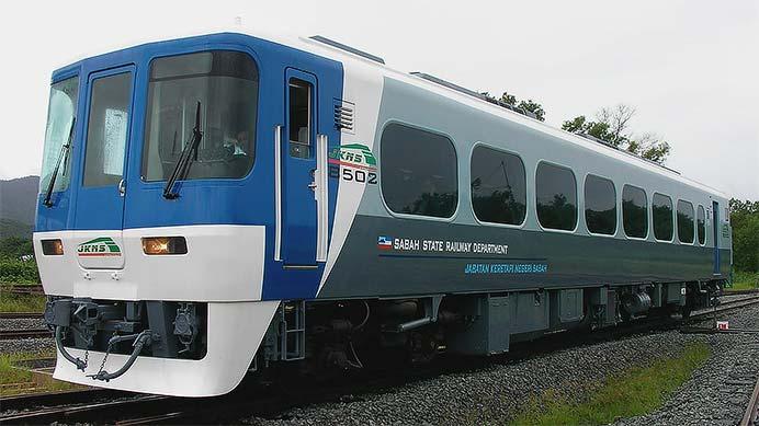 マレーシア・ボルネオ島のサバ州立鉄道