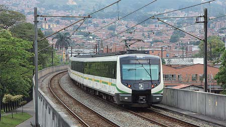 コロンビア メデジンの都市交通システム