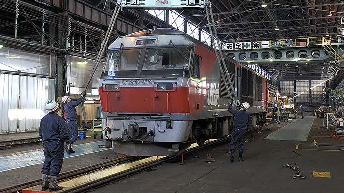 日本貨物鉄道(株)北海道支社 苗穂車両所