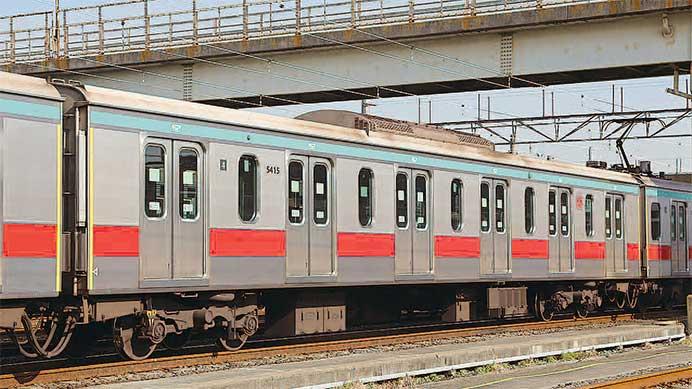役目を終えた 東京急行電鉄5000系6扉車