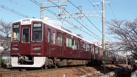 阪急電鉄の車両動向 2017