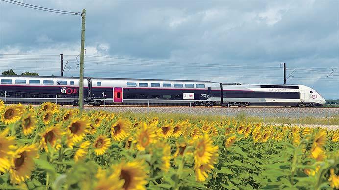 フランス TGV 高速新線開業 南ヨーロッパ大西洋線