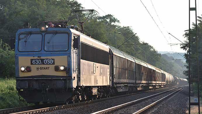 ハンガリーの貨物列車バラエティ