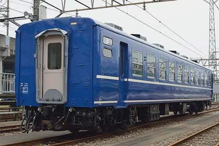 JR東日本 オハ12 367全検出場!