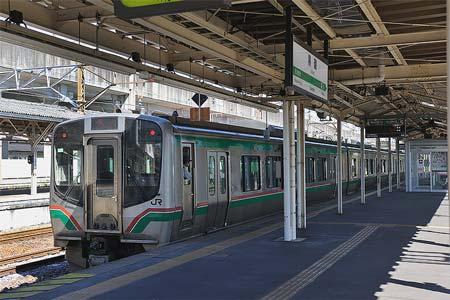 唯一の交直地上切替 見納め近づく東北本線・黒磯駅構内 直流化へ