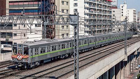 リーフグリーンが駆け抜ける 都営地下鉄新宿線の車両たち 前編