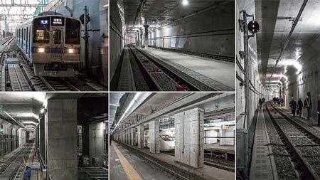 2018年3月3日,代々木上原-梅ヶ丘間で複々線による運転がスタート!小田急電鉄の新しいトンネルを拝見