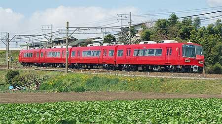 名鉄5700系5601編成が営業運転を開始