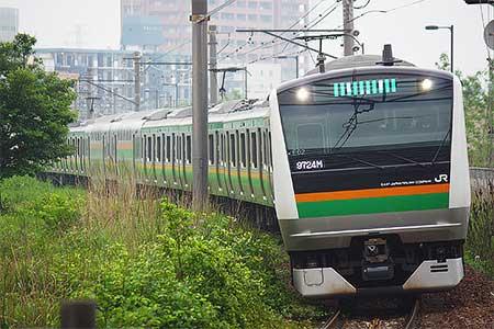 辻堂駅ホーム拡幅工事による運転変更