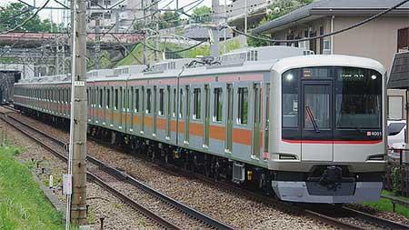 東急5050系4000番台が田園都市線内で試運転