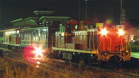 マヤ34 2009が平成筑豊鉄道を検測