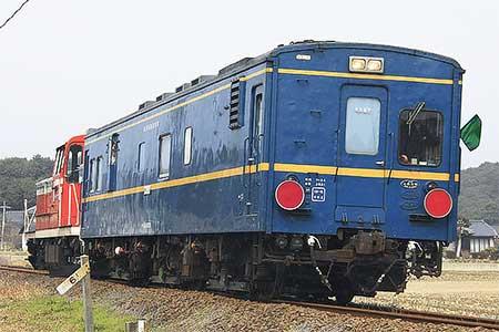 マヤ34 2009が松浦鉄道を検測