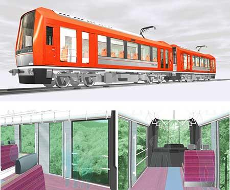 箱根登山鉄道3000形を導入