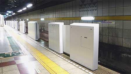有楽町線豊洲駅にホームドア設置