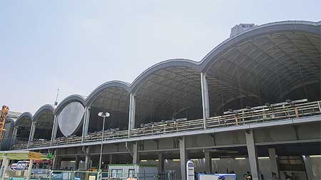 東急東横線・旧渋谷駅の解体進む