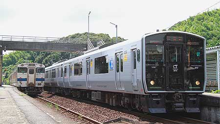 817系蓄電池車両が日田彦山線で試運転