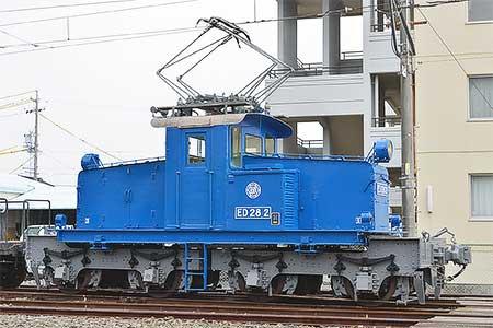 遠州鉄道で『電気機関車ED28 2写真撮影会』開催