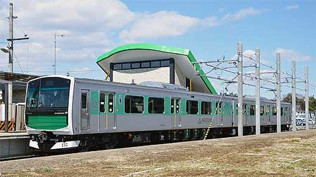 烏山線でEV-E301系が営業運転を開始