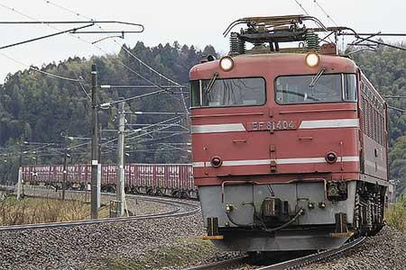 鉄道ニュース富山機関区所属のEF81形の定期運用が終了