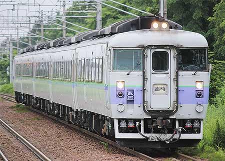 """""""フラノラベンダーエクスプレス""""2・3号をキハ183系が代走"""