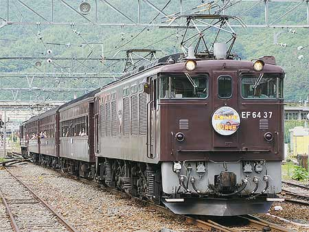"""快速""""信濃大町駅100周年記念号""""運転"""