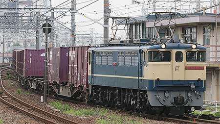 EF65 2139が中京・関西地区へ
